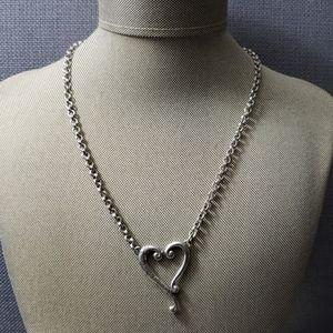 """Brighton  heart necklace 17"""""""
